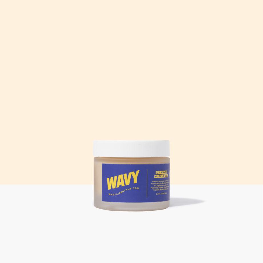 Icy Waves Muscle Gel | Wavy CBD